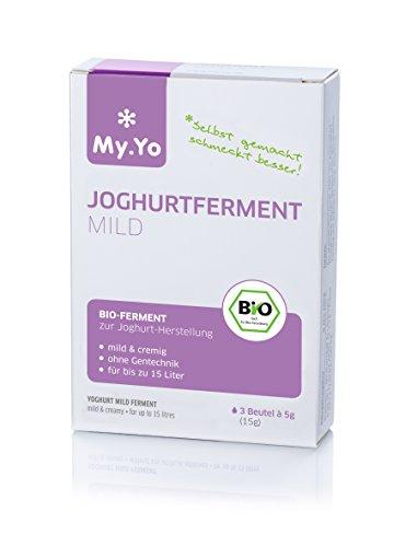 Bio-Joghurtferment Mild von My.Yo, 3 Beutel