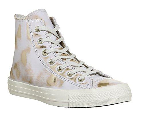 Basket, couleur Blanc , marque CONVERSE, modÚle Basket CONVERSE BRUSH OFF LEATHER Blanc Blanc