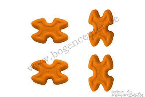 Limbsaver TwistLox Wurfarmdämpfer für Split Limbs in orange -