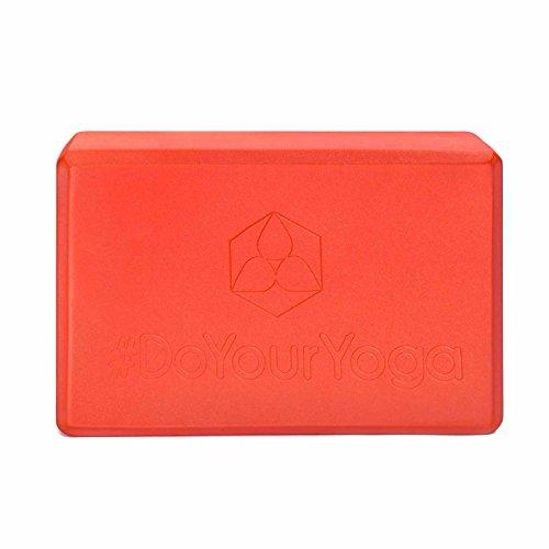 Cleverbrand aruna» ou «mousse dure très légère spécial yoga-dimensions du bloc pour un soutien spécial yoga-übungen. dans de nombreuses couleurs tendance. orange