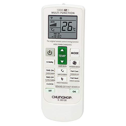 Chunghop Télécommande universelle pour climatiseur/pompe à chaleur inverter