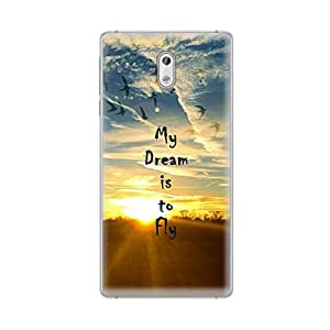 Digi Fashion Premium Soft Case with direct printing for Nokia 3