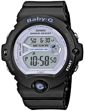 Casio Baby-G – Damen-Armbanduhr mit Digital-Display und Resin-Armband – BG-6903-1ER