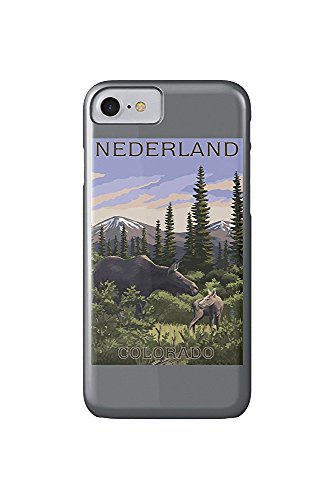 - Moose and Baby (iPhone 7 Cell Phone Case, Slim Barely There) ()