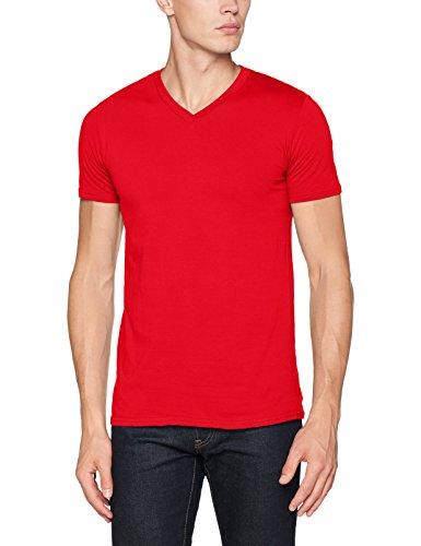 Gildan Soft Style T-Shirt mit V-Ausschnitt 64V00 Red