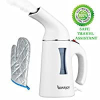 Clothes Steamer - Unuber Portable steam hanging ironing machine, Ironing machine, 130ml2 minutes quick heating ,Hand ironing machine,Both travel and at home are convenient,100% Safety