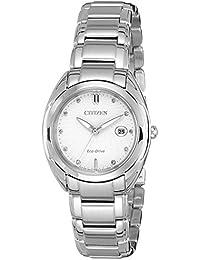 Citizen Analog White Dial Women's Watch - EM0310-61B