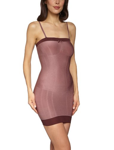 Triumph Damen Kleid (mini) Retro Sensation Bodydress , Gr. 42/44 (L), Bronze (ROSE BROWN (UD))