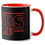 1586-Taza ceramica, Stranger things - Friends Dont lie