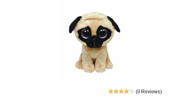 1a2cc515fef Ty 9-Inch Medium Buddy Size Pugsly Pug Beanie Boo  Amazon.co.uk  Toys    Games