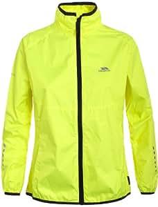 Trespass Women's Hybrid Cycling Jacket - Hi Visibility Yellow, Large