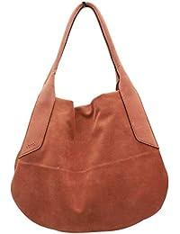 b840f1ea8a Abro Soft Suede Leather Grab Handle Handbag