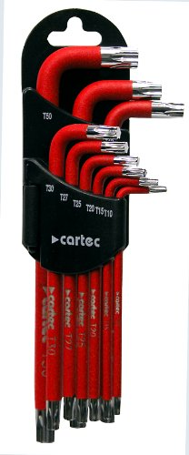Cartec 233417 Star Key Set 9 Stück