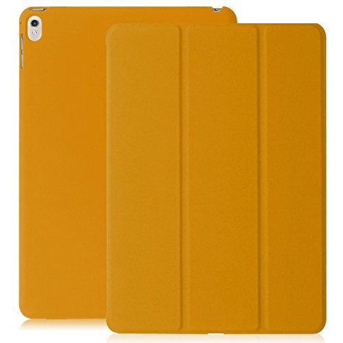 KHOMO iPad Pro 9.7 Zoll Hülle Case Orangenes Gehäuse mit doppelten Schutz ultra dünn und leicht, Smart Cover Schutzhülle fur das Neue Apple iPad Pro 9.7 - Dual Orange