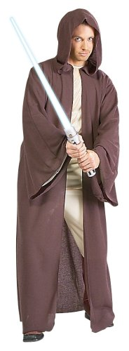 Jedi Robe Adult Costume Star Wars Fancy Dress All (Kostüme Jedi Erwachsenen Knight)