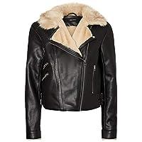 Vero Moda Kadın Ceketler VMFALL SHORT FAUX LEATHER JACKET
