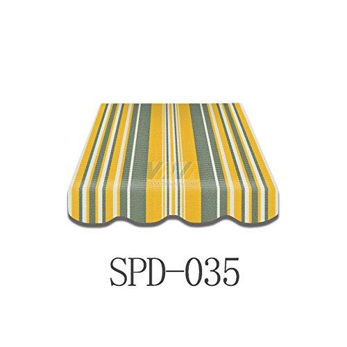 Markise-Volant Markisenbespannung Ersatzstoff 4 m Neu NUR VOLANT SPD019