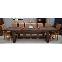 Amazon.es: mesas de comedor de madera extensibles