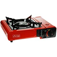 Kingfisher OLSTOVE Portable Camping Gas Stove - Red, NA