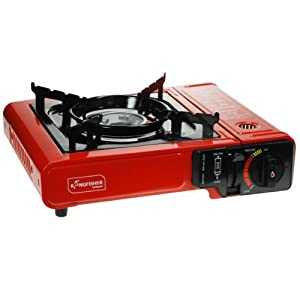 41cx5V92iJL. SS300  - Yellowstone Portable Gas Stove - Black