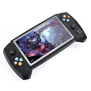 DZSF 7,0-Zoll-Handspiel-Spieler Klassisch Griff Retro Spiel-Konsole Dual-Joysticks Für PSP GBA NES FC Spiel-Spieler New