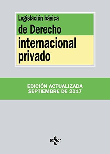 Descargar LEGISLACION BASICA DE DERECHO INTERNACIONAL PRIVADO (27ª ED )