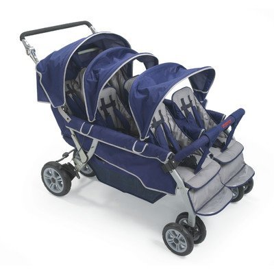 Angeles Surestop Folding Commercial Bye-bye Baby Best Stroller 6-passenger by Angeles