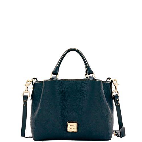 Dooney Frauen Handtasche (Dooney & Bourke Handtasche mit Griff, Kieselstein-Design, Schwarz (Black Black), Einheitsgröße)