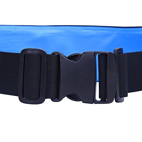 EGOGO Laufenden Gürtel Taille, Verbrauchsteuern Riemen laufen Läufer Pack, Läufer Tasche, Gürteltasche, Gürteltaschen (Schwarz) Gelb