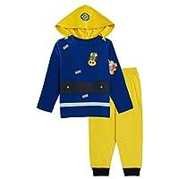 Fireman Sam Boys Novelty Dress Up Pyjamas 2-3 Years Blue