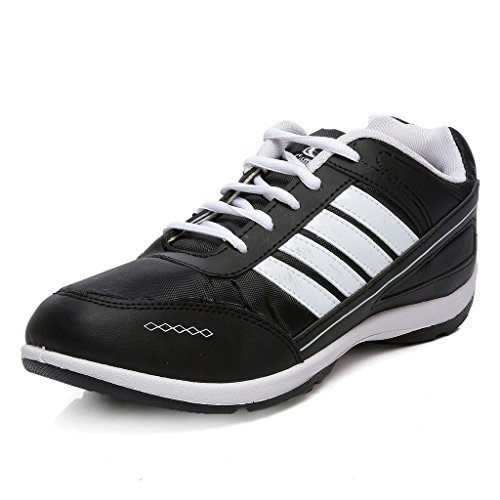 Combit Black and White Men's Sport Shoes