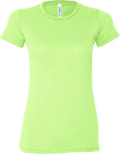Bella Canvas Damen T-Shirt Neon Green