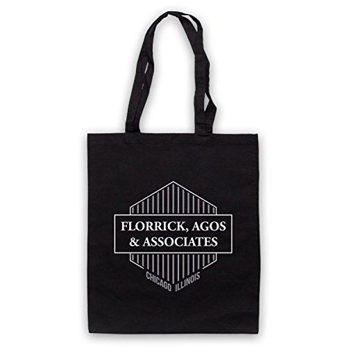 Inspiriert durch Good Wife Florrick Agos & Associates Inoffiziell Umhangetaschen Schwarz