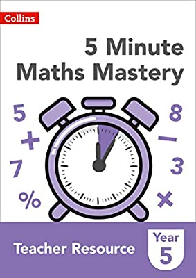 Collins KS2 Revision and Practice – 5 Minute Maths Mastery Book 5 by Collins