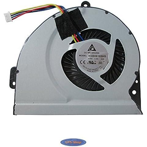 ASUS A43 X53S K53S A53S K53SJ P53SJ K43X K43E K43S K43SJ A83 A84S X84L Procesador del ordenador portátil ventilador,