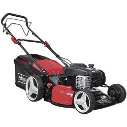 Scheppach 5911233903 Mäher/Rasenmäher / Benzin - Rasenmäher MS450-46 | ausgestattet mit professionellem GT-Getriebe, hohes Drehmoment, hohe Leistung, lange Lebensdauer, mit Radantrieb | 4-Takt-Motor