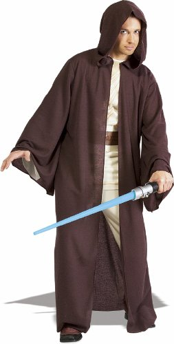 Rubies Costume Co 18808 Star Wars Jedi Robe Deluxe Adult Costume Size Standard One-Size