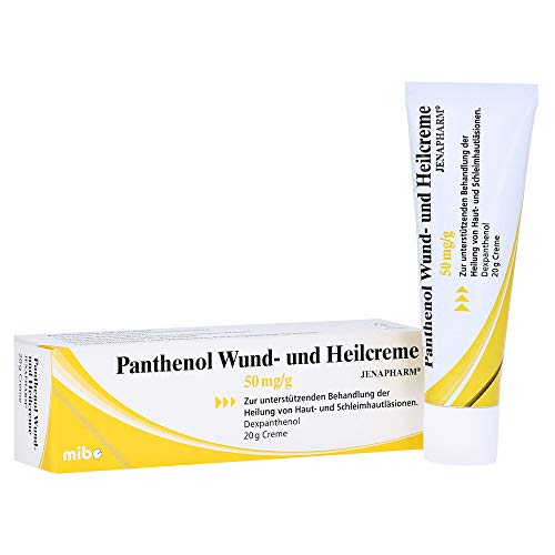 Panthenol Wund- und Heilcreme JENAPHARM 50mg/g Creme 20 Gramm