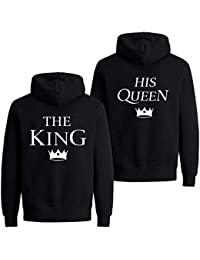Daisy for U King Queen Couple Set Sudadera con Capucha