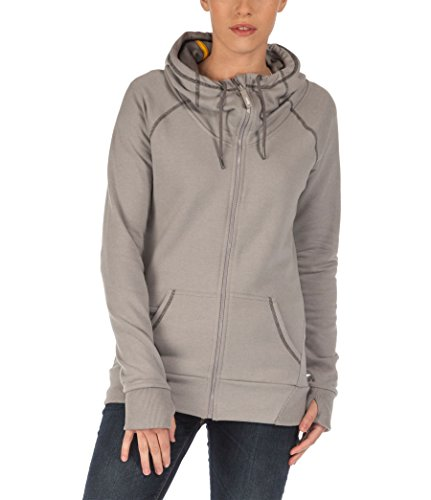 Bench Damen Sweatshirt Sweatjacke Footing grau (Neutral Grey Marl) X-Small
