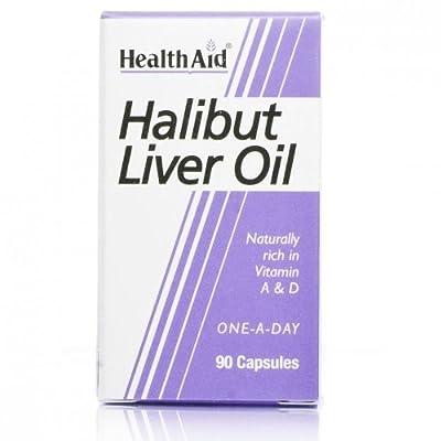 HealthAid Halibut Liver Oil 90 Capsules - CLF-HAD-802225