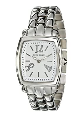 Pierre Cardin PC102072F09 - Reloj de mujer de cuarzo, correa de acero inoxidable color plata de Pierre Cardin