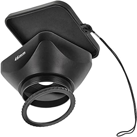 Video paraluce paraluce compendium Matte Box fuer videocamera di alta qualità con filettatura filtro 46mm