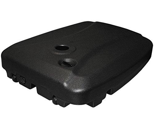 KMH, Ampelschirmständer/Schirmständer für Wasser-Füllung (60 kg) aus Hochwertigem HDPE Kunststoff (#107015)