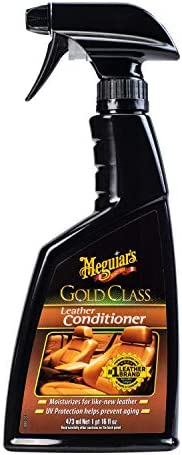 Meguiar's Gold Class Car Leather Conditioner 473 ml, G18616, H10.875 X W4.25 X D2 in