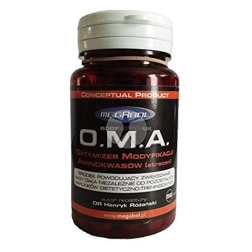 Preisvergleich Produktbild Megabol O.M.A Amino Acid DECARBOXYLATION ETRACEN OMA 56 caps