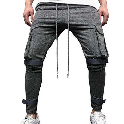 Chino Hose Pants Mit Stretch Mountain Vintage Cargohose Hose erren Cargo Hose Viele Taschen Baumwolle Freizeithose Loose Fit Arbeitshose Straight Jeans ()