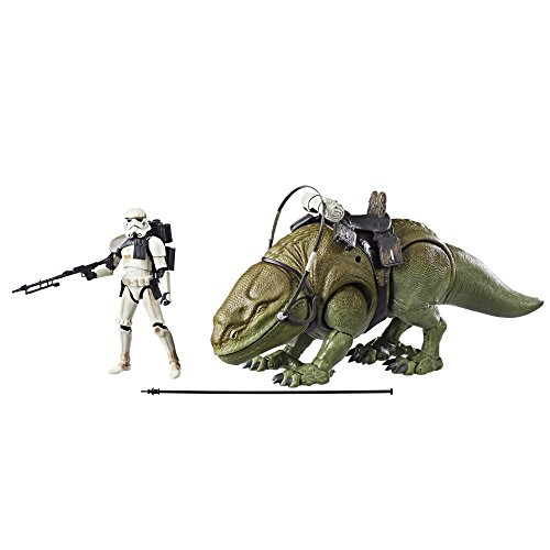Star Wars The Black Series Dewback and Sandtrooper -