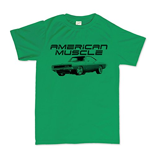 American Muscle 70s Dodge Charger Classic Car T-shirt -