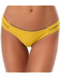 6af72624fc78 SHEKINI Donna Fashion Stile Bikini Perizoma Nuoto Tronchi Brasiliano Bikini  Bottom Sexy Thong Slip Pantaloni Costumi